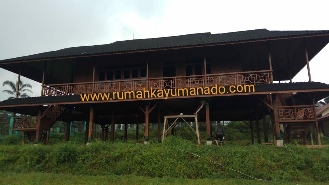 PORTOFOLIO RUMAH KAYU CLIENT BAPAK RIDWAN, BANDUNG ORDER KE-1
