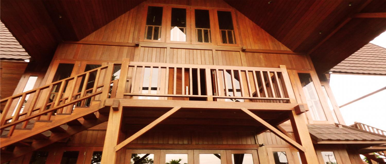 Rumah Kayu Manado – Kontraktor Rumah Kayu Knock Down