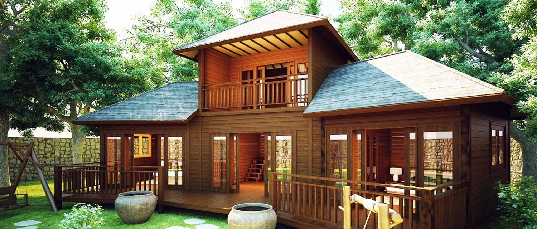 Rumah Kayu Modern Minimalis (RKMM)